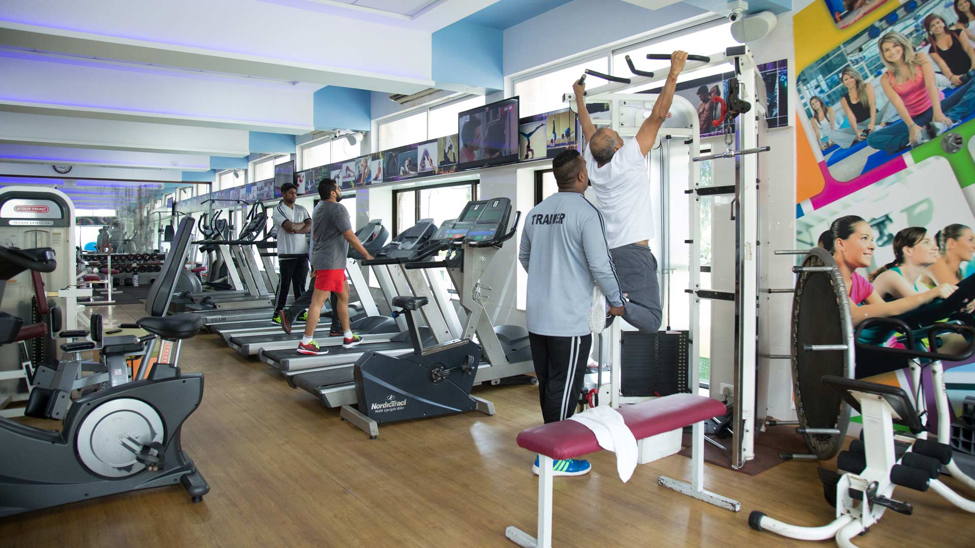 Sports clubs and fitness halls of Dnepropetrovsk